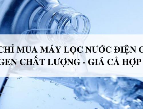 Địa chỉ mua máy lọc nước điện giải Kangen Chính hãng – Giá cả hợp lý ?