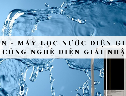 Kangen – máy lọc nước điện giải sức khỏe công nghệ điện giải Nhật Bản
