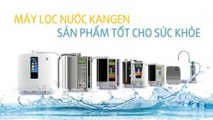 Máy lọc nước Kangen với kích thước với cùng nhỏ gọn, tinh tế