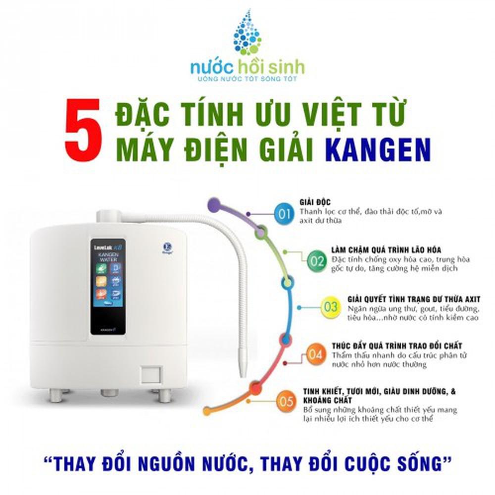 Kangen là thương hiệu máy lọc nước được ưa chuộng hiện nay