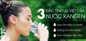 Nước Kangen có khả năng chống oxy hóa, loại bỏ vi khuẩn hiệu quả