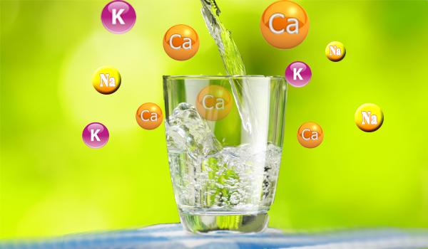 Các loại khoáng chất có trong nước Kangen