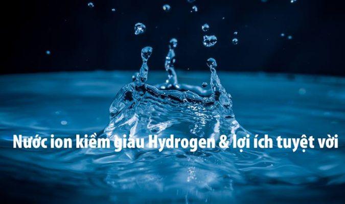 Nước có chỉ số Hydrogen cao có khả năng tiêu diệt những tế bào tự do gây bệnh cho cơ thể